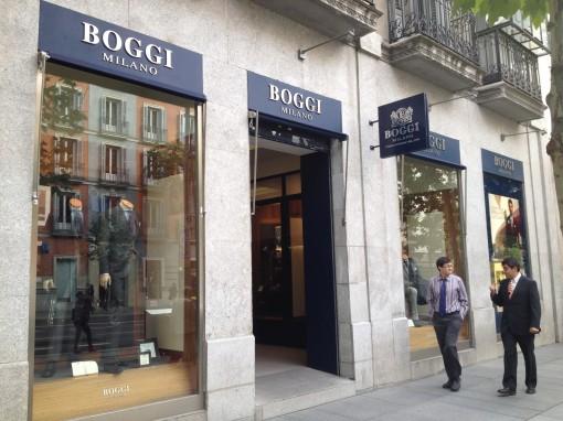 Madrid_Serrano Street_Boggi Store