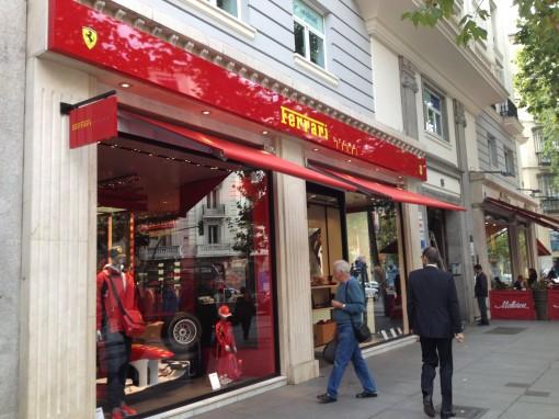 Madrid_Serrano Street_Ferrari Store