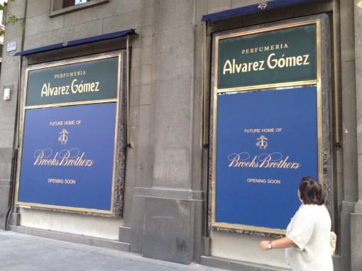 Madrid_Serrano street_Brooks Brothers Next Opening