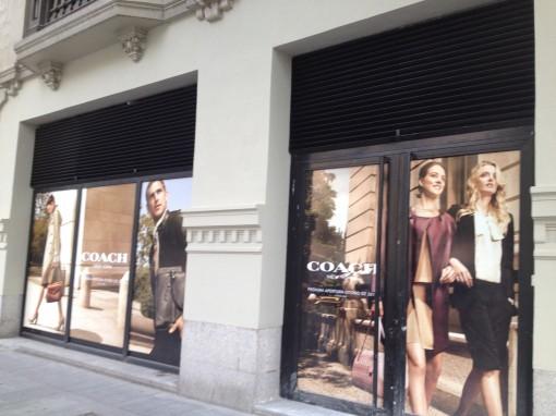 Madrid_Serrano street_Coach next opening