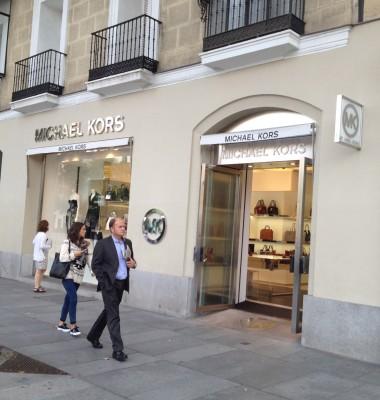 Madrid_Serrano street_Michael Kors store