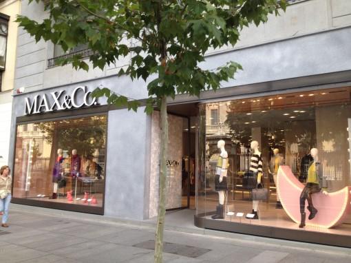 Madrid_Serrano street_Max&Co store