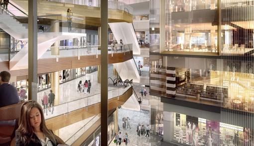 Hudson Yards_Retail area